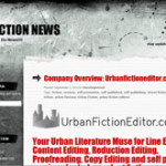 Urban Fiction Editor Interview on Urban Fiction News!