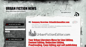 Urban Fiction Editor Author Advice